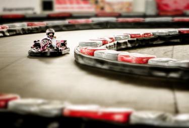 go kart line marking UK