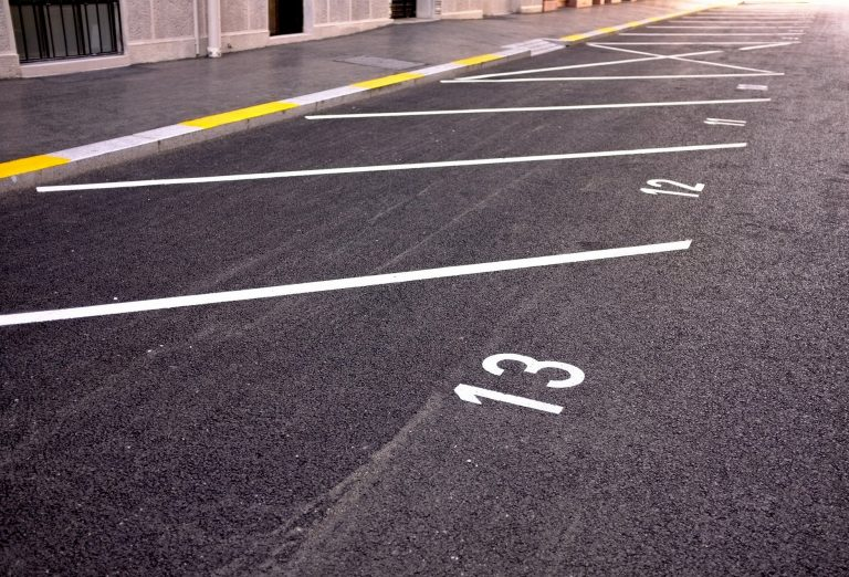 car park line marking in Leicester